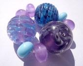 Sea Heather mini bead set