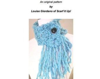 Cachecol PDF ORIGINAL Asymmetrical Knitting Pattern