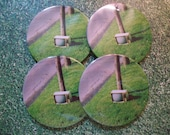 Hitchhicking T.V. Coasters