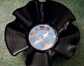 Neil Diamond Record Bowl