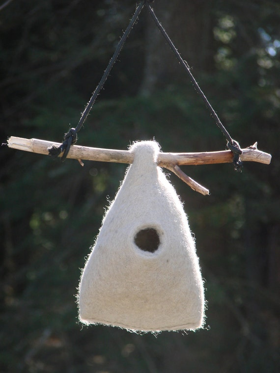 Felted Birdhouse