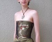 Flemenco Tudor style corset or bustier