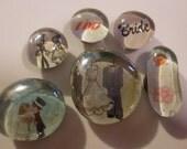 I do I do I do Marble Magnets