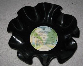 Record Bowl Planter Dish