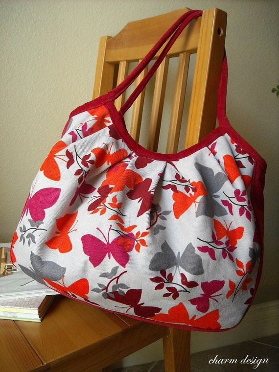 SALE - Butterfly - New Style Granny Bag