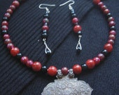 Rites Necklace and Earring Set