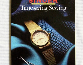 Singer Timesaving Sewing book