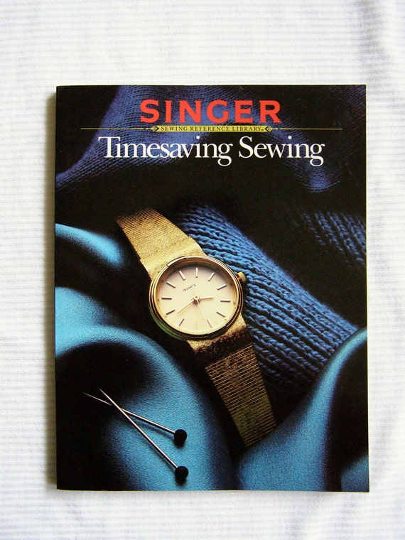 Singer Timesaving Sewing book