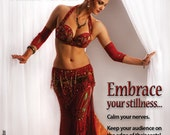 """Belly Dance Instructional DVD """"Delicious Pauses: Negative Space in Movement"""""""