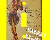 Sailor Jerry Switchplate Cover