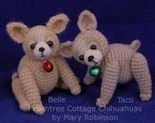 Thread Crochet Pattern - Miniature Chihuahua - PDF Format