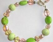 Custom bracelet for buttonempire