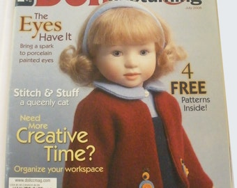 Doll Crafter & Costuming Magazine- July, 2006,  tutorials, projects, doll making, sewing, toy making, techniques