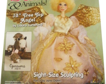 SOFT DOLLS & ANIMALS Magazine, January 2010, Tutorials, projects, doll making, sewing, bear making, toys, techniques, Michelle Munzone, Diy
