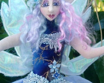 """FAIRIES / Pixies Mix and Match- PATTERN and Karla KIT - 11"""" (28 cm)"""