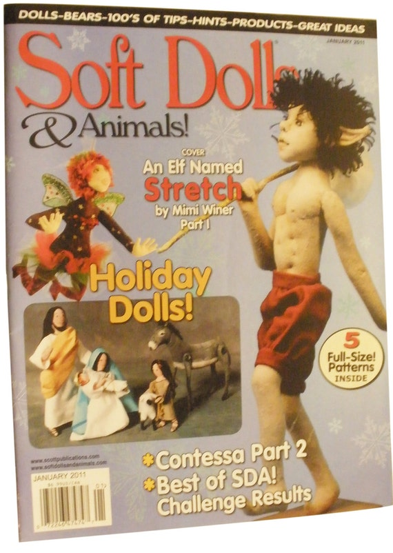 SOFT DOLLS & ANIMALS Magazine- January 2011