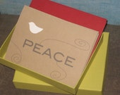 Peace Dove - Set of 8 note cards