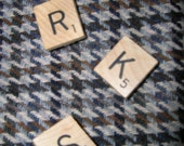 Scrabble Initial Pins FREE SHIPPING