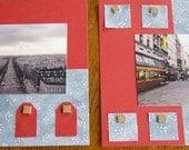 Paris Honeymoon 8x8 scrapbook