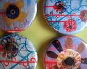 SALE magnets- set of 4