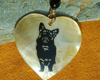 Corgi Shell Necklace