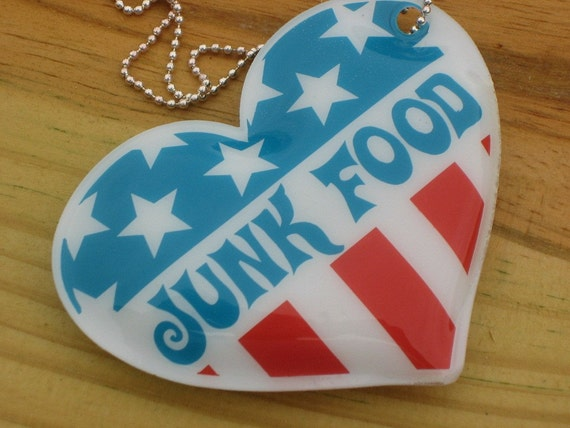 Recycling Junk Food Necklace