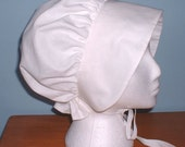TUDOR OR VICTORIAN STYLE HAT BONNET- FANCY DRESS AND COSTUME