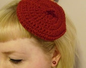 Customizable Mini Beret - Your choice of colour
