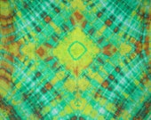 Tie Dye Habotai Silk 44 x 44 inches
