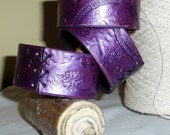 Reserved Custom Order....Kaylee Bangle in Purple size Medium