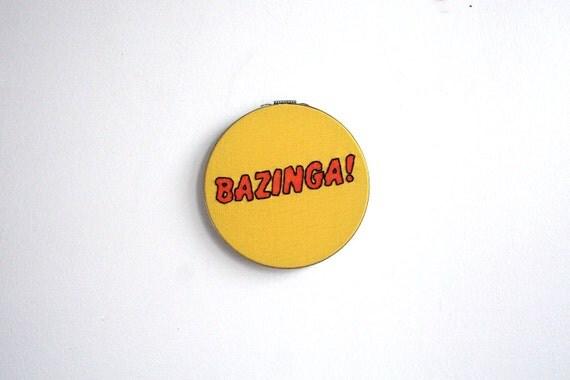 Hand Embroidery Hoop - Bazinga
