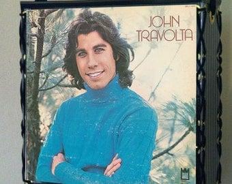 John Travolta Record Album Tote Bag