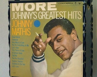 Johnny Mathis Record Album Cover Tote Bag
