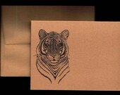 Bengal Tiger Notecard Set