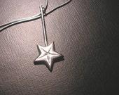 Custom order fine silver MAGIC WAND pendant reserved custom Longer length