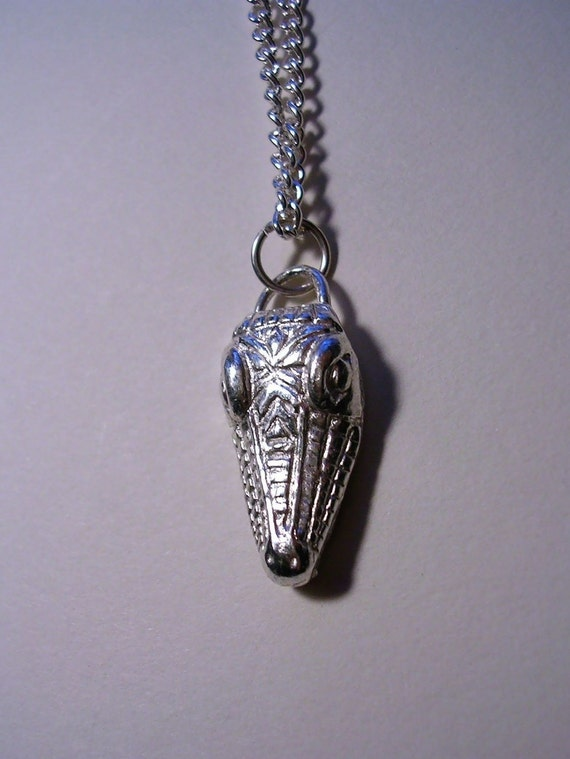 custom made alligator charm pendant