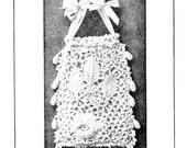 1900 Victorian Irish Crochet Book Purses Laces Lace Flower Motif Neckties Patterns Emerald Isle DIY Crocheted Reenactment