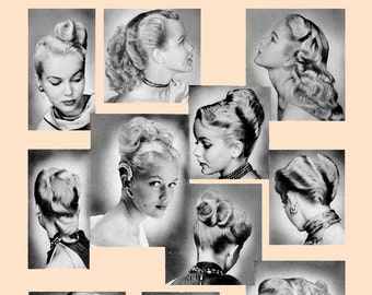 how to create 40s hairstyles