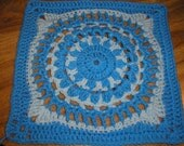 Grandmothers China (12 inch crochet square pattern)