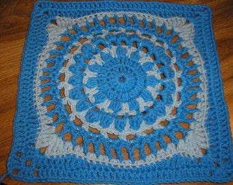 Grandmothers China (12 inch crochet square pattern)