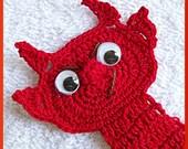 Crochet Pattern, Goblin and Devil Page Peekers
