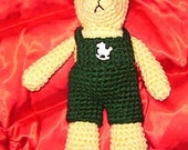 Crochet Pattern Teddy Bear and Outfits