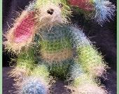 Crochet Pattern, Fuzzy Bunny