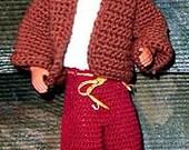 Crochet Pattern, Hallowe'en for Ken