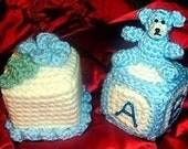 Crochet e-pattern, Shower Favours, Baby