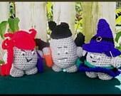 Introductory Sale, Crochet Pattern, More Rock People Hallowe'en