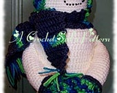 Crochet Pattern, PDF, Stretch The Snowman TP cover
