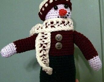Best Dressed Snowman Crochet Pattern Instant Download