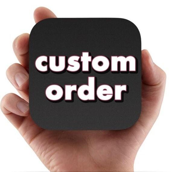 custom order for vickie howell
