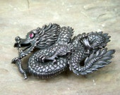Dragon Buckle Belt
